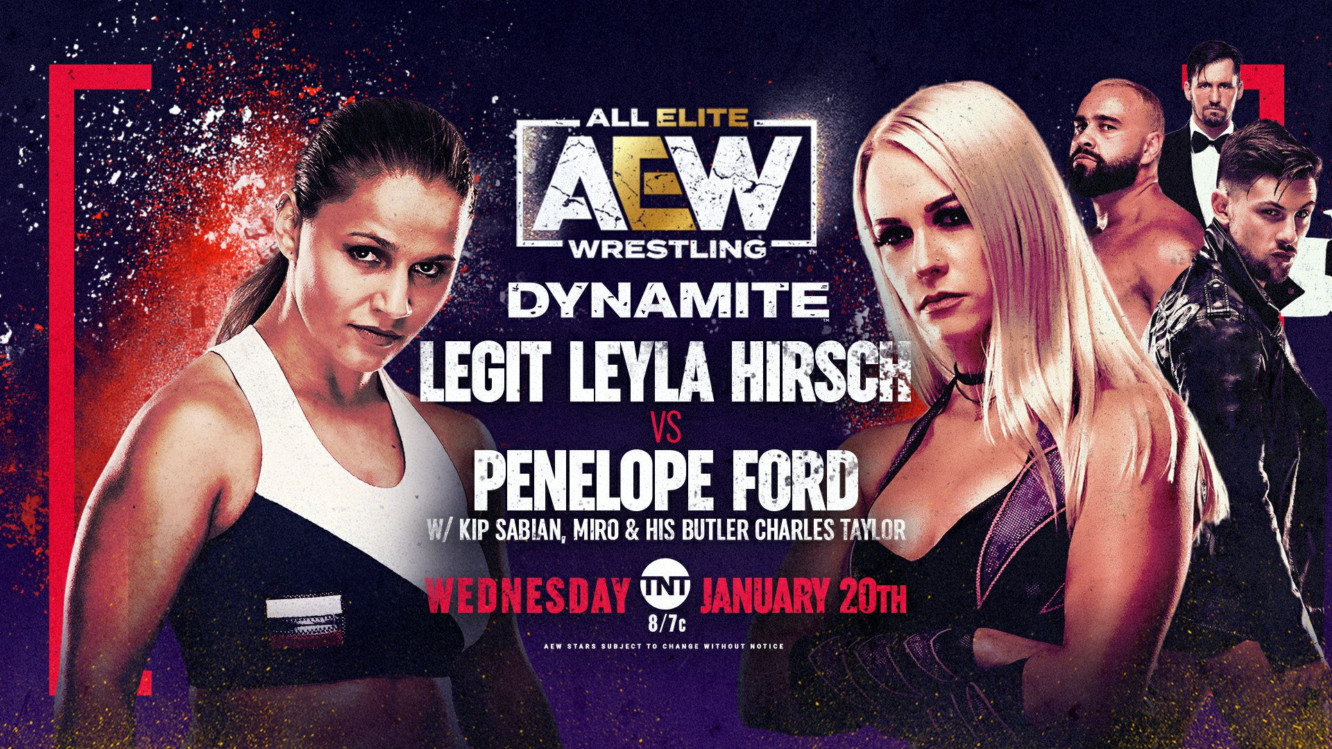 AEW Dynamite IGNITE for 1/20/21