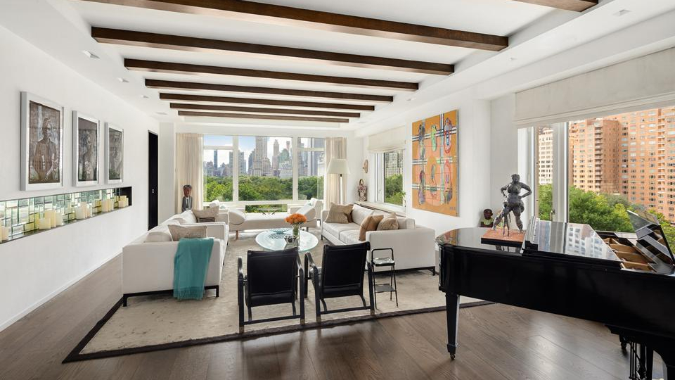 An extraordinary condominium on New York's Upper West Side that showcases the work of award-winning design studio Jeffrey Beers International is on the market for $35 million