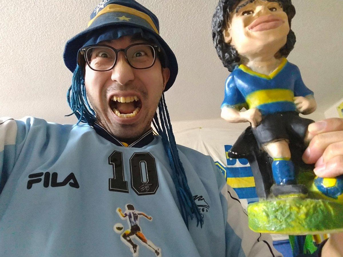 GRACIAS por Salir Campeón🏆🥇🇦🇷 #CopaDiegoMaradona  #DiegoEterno #DiegoMaradona  #VamosBoca  @FanaticaSTAFF @corazon_buta