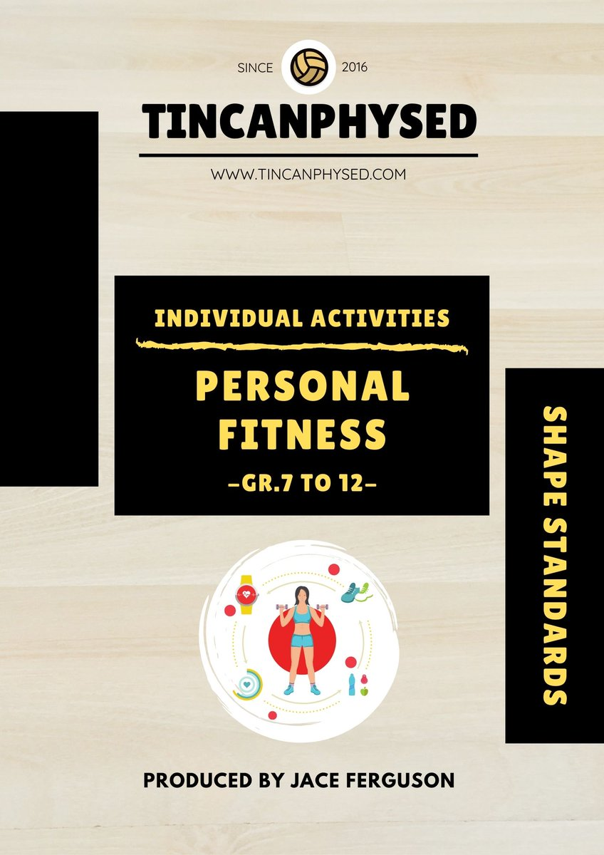 🚨🚨 NEW UNIT PACK OUT NOW!!🚨🚨  Are you looking for some new resources to explore personal #fitness concepts? Check out how fun and engagement are brought back into fitness!! Filled with engaging lessons and activities!    #PhysEd #SecPhysEd #HPEatHome