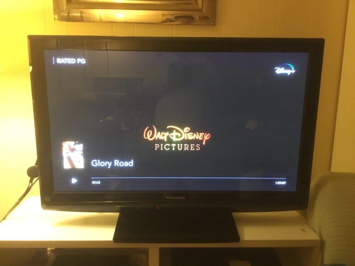 I'm Now Watching Glory Road On Disney+ #WaltDisneyArchives #D23 #WaltDisney #Disney #DisneyPlus #AtHomeWithD23 #GloryRoad #ABC7Eyewitness