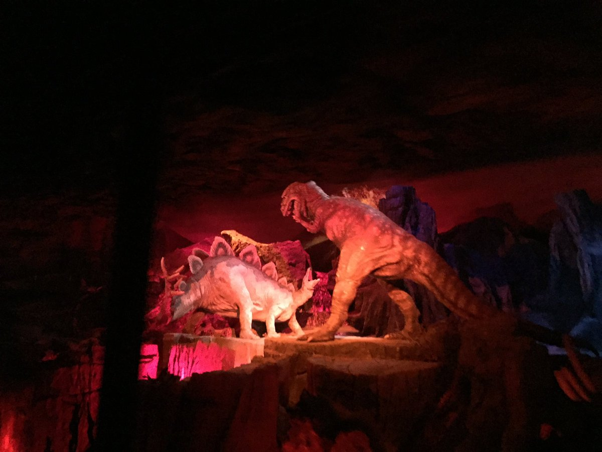 Dinosaurs from theme parks. This is my tweet