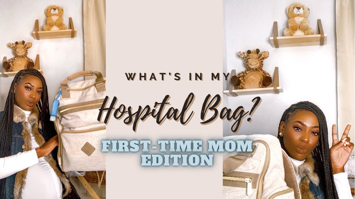 What's in My Hospital Bag? | First-Time Mom Edition!     #blogger #momblogger #influencer #youtubevideo #newvideo #linkinbio #laboranddelivery #pregnancyjourney #momlife #hospitalbag #hospitalbagessentials #diaperbag