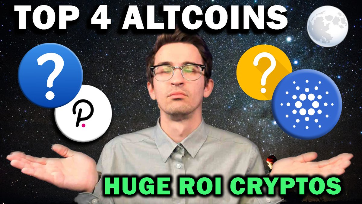Check out my new video! TOP 4 ALTCOIN PICKS TO WATCH 👀 ▶️ Watch it here: youtube.com/watch?v=IMnTr_… Im sleepy. See you all tomorrow 👋 #Crypto #Bitcoin #Ethereum