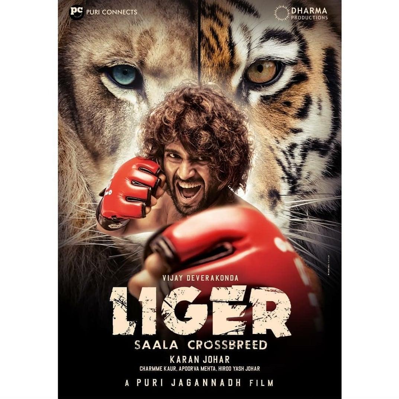 There you go! The first look of #LIGER starring #vijaydevarakonda and #annanyapandey is here!   #Cinepolis #CinepolisIndia