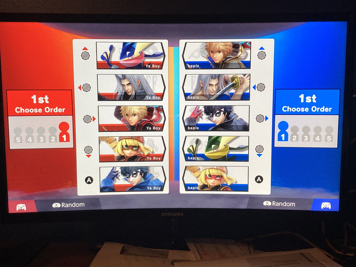 Me: We get the same characters way too much on Squad Strike Squad Strike: Hold my beer #FreeMelee #SaveSmash