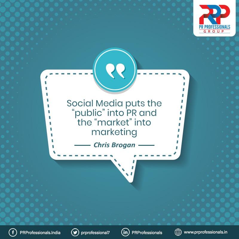 #QuoteOfTheDay  #socialmedia #publicrelations #PR #marketing #digitalmarketing #PRP #pragency #PRProfessionals