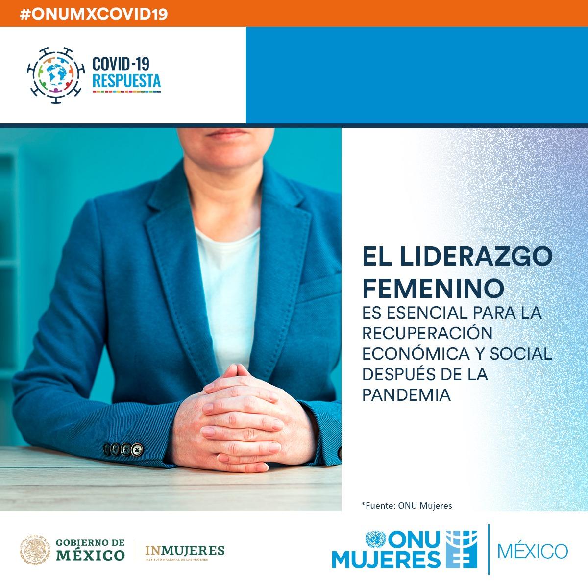 La respuesta al impacto de la pandemia debe asegurar la participación igualitaria de las mujeres en la toma de decisiones. Entérate aquí:  #ONUMxCovid19