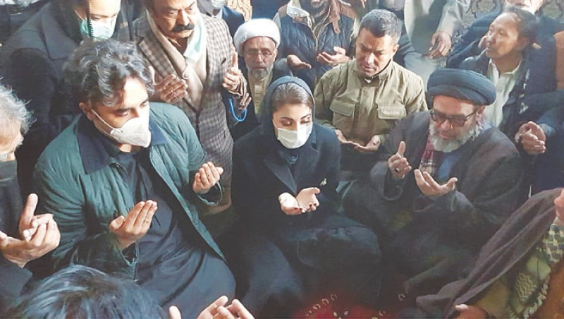 """""The two leaders came here and expressed solidarity with us and shared in our grief against all odds. Their words and gestures gave us feeling as if they are from our own tribe."" Dr Aliya Haider #HazaraLivesMatter  @BBhuttoZardari @MaryamNSharif"