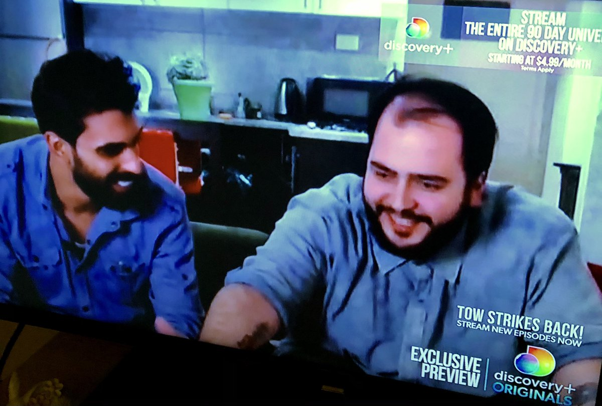 I'm just thrilled that Yazan & Adam are hanging out together. Adam seemed like an awesome guy from the time he arrived on the scene to translate. Hopefully Yazan can focus on friendship right now, & not a disastrous relationship #90DayFiance #90DayTheOtherWayStrikesBack