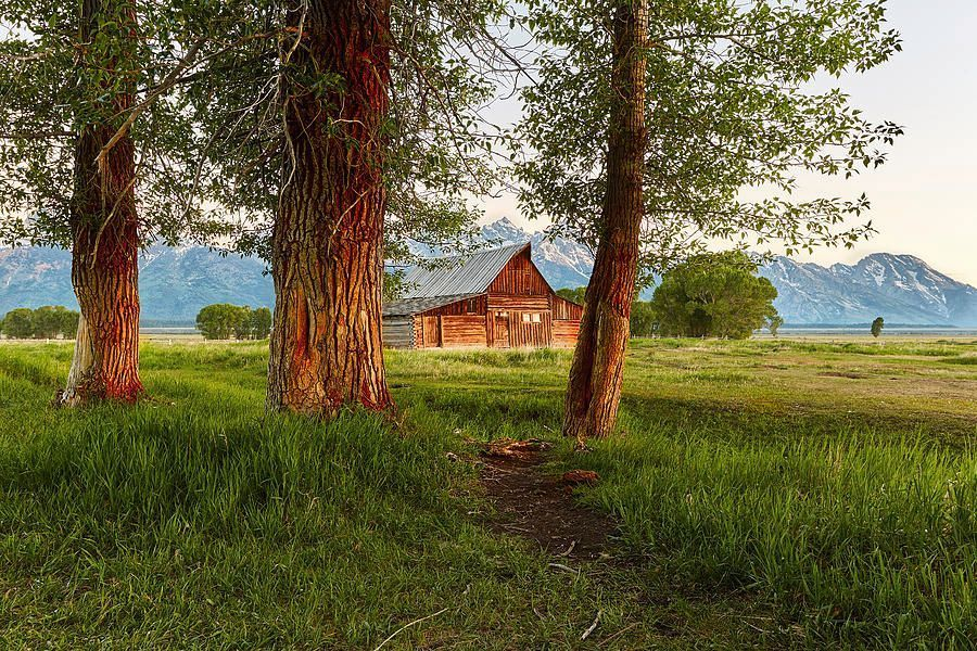"""Barn On The Path"" by Jon Glaser  #landscape #landscapephotography #travelpics #traveling #Landscapes #nature"