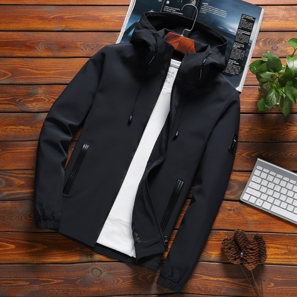 Men's Casual Hooded Autumn Jacket #nature