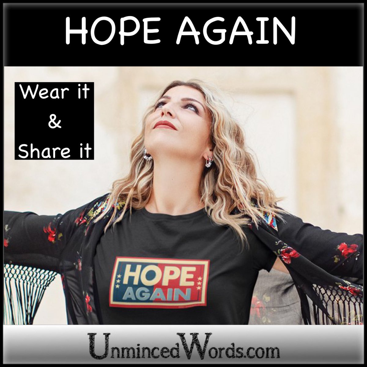 @NowunTrumped Speaking of Hope Again. We made this inspiring piece at  #HopeAgain #AfterTrump #LifeAfterTrump #PostTrumo