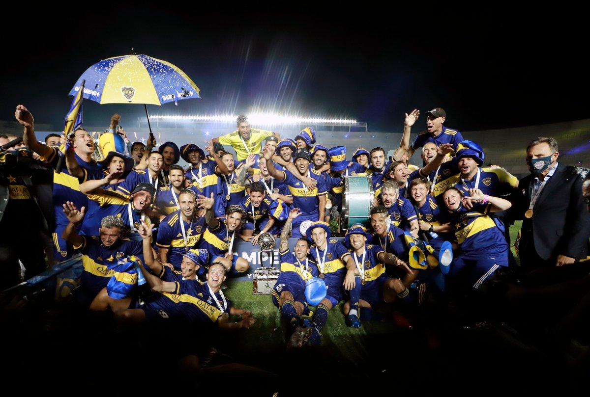 ¡Boca campeón! 7️⃣0️⃣⭐  #SeQuedaEnCasa