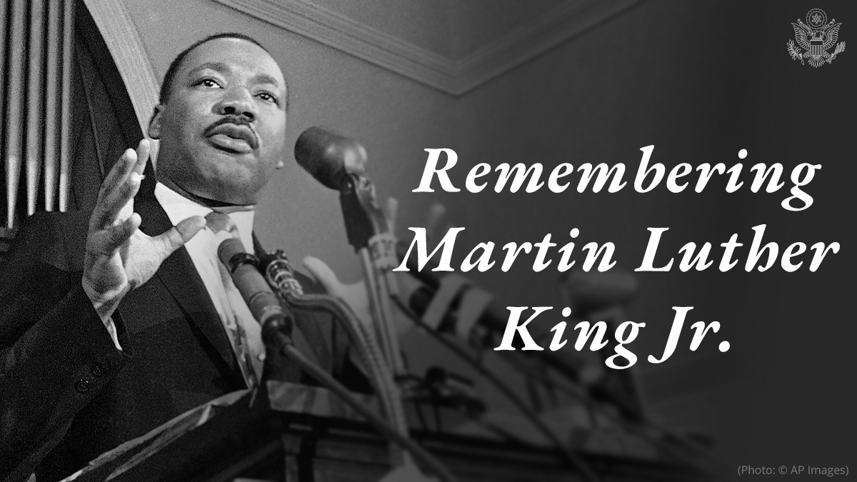 Reverend Dr. Martin Luther King, Jr. devoted his life to upholding the unalienable rights of all Americans. Today we honor his work in advancing social justice and equality in the United States by serving our communities and country.