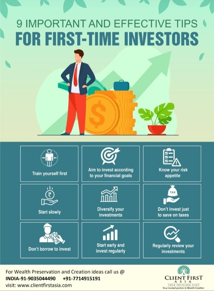 First time investors should definitely have a look at this.  #clientfirstasia #wealthmanagement #financialplanning