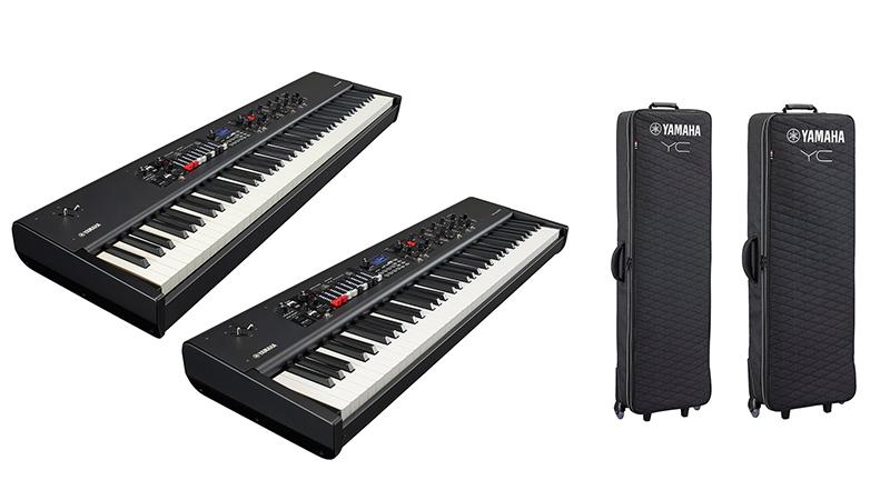 本日予約開始!  Yamahaより、ライブ、配信と多彩なシーンで「本物のサウンド」と「演奏」にこだわるキーボーディストの為のステージキーボード『YC88』と『YC73』が新登場!   #Yamaha