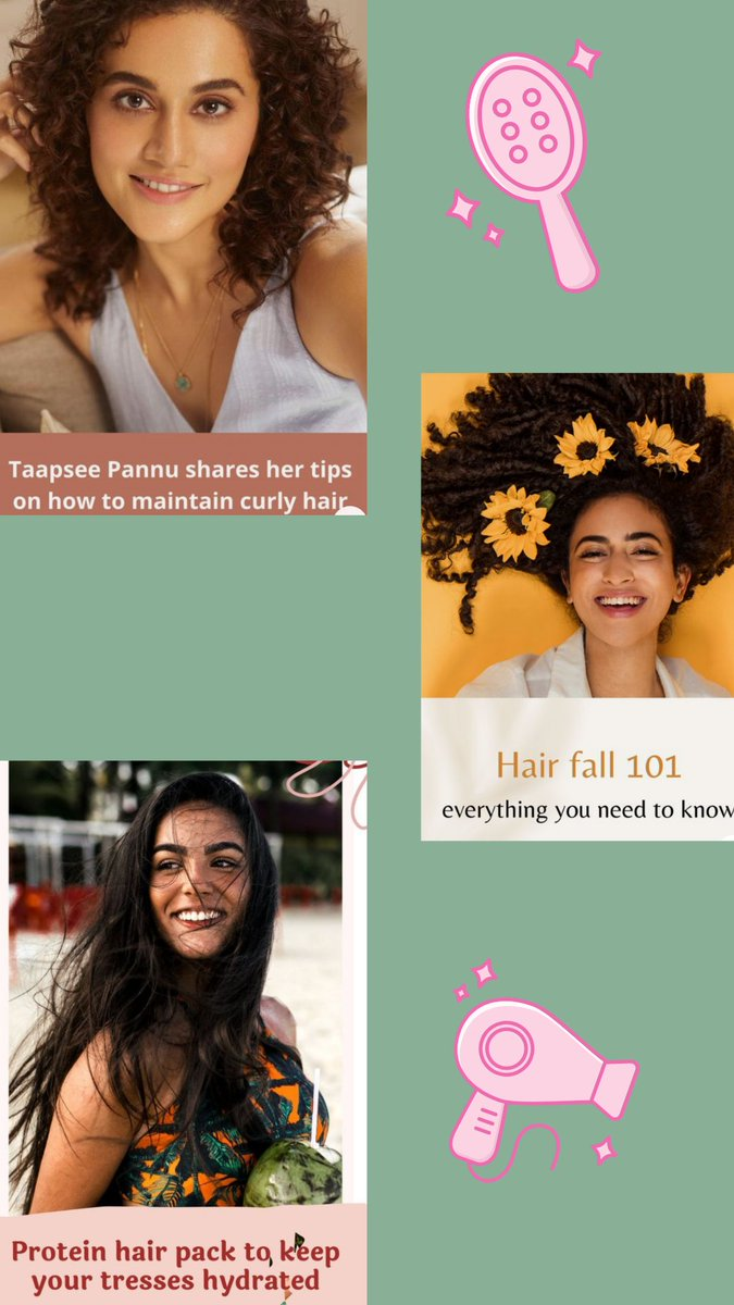 Having a bad hair day?  Head to Tweak India's Beauty board on Pinterest for all the hair care hacks and tips you need:  #haircare #beautytips
