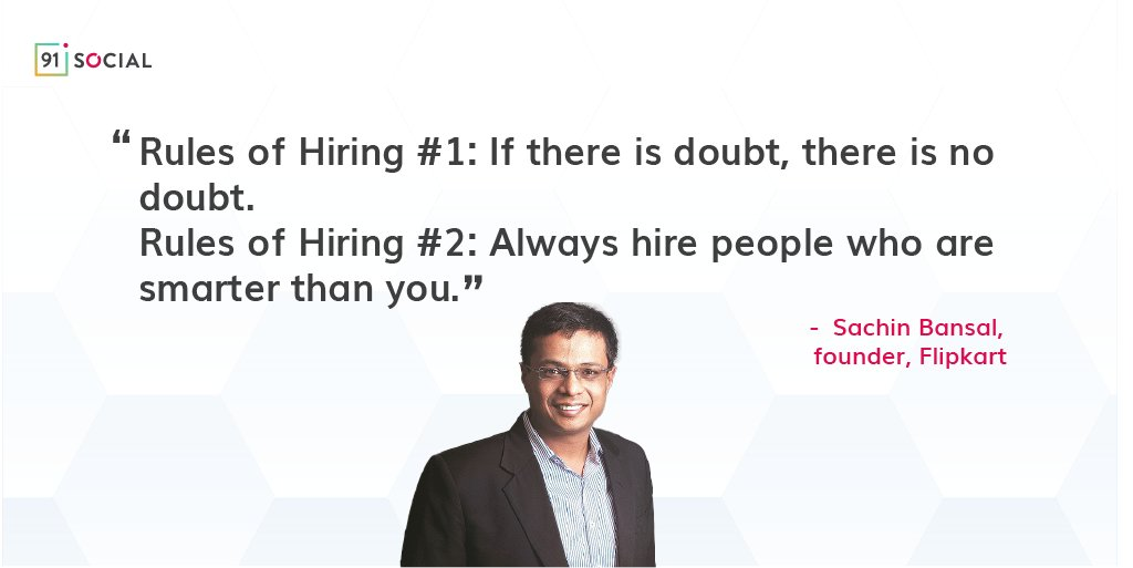 When you hire, look for someone who can complement your team and add value. #Quotes #MondayMotivation #Inspiration #Leaders #Vision #Digital #hiringrules #hiring https://t.co/69vT77MZMd