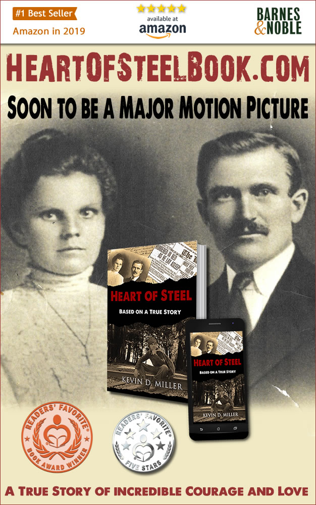 @from_walrus HEART OF STEEL: Based on a #TrueStory  True story that reads like a #novel. Emotional, dramatic, cinematic, #lovestory #FamilyDrama #MurderMystery #1920s Soon to be a #Hollywood #Movie  B&N: https://t.co/h63RQSqwah Amazon: https://t.co/hJOfK7QHQW Website: https://t.co/KbyrOMlb5E https://t.co/6ZritDZREa