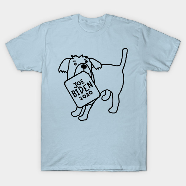 #SOLD and off to #Pennsylvania  #USA this awesome '#Cute #Dog with #JoeBiden 2020 Sign Outline' design from @TeePublic! #thankyou  buyer for getting your #souvenir #tshirt  #ellenhenryart #TeePublic #giftideas #ChristmasCountdown #digitalart