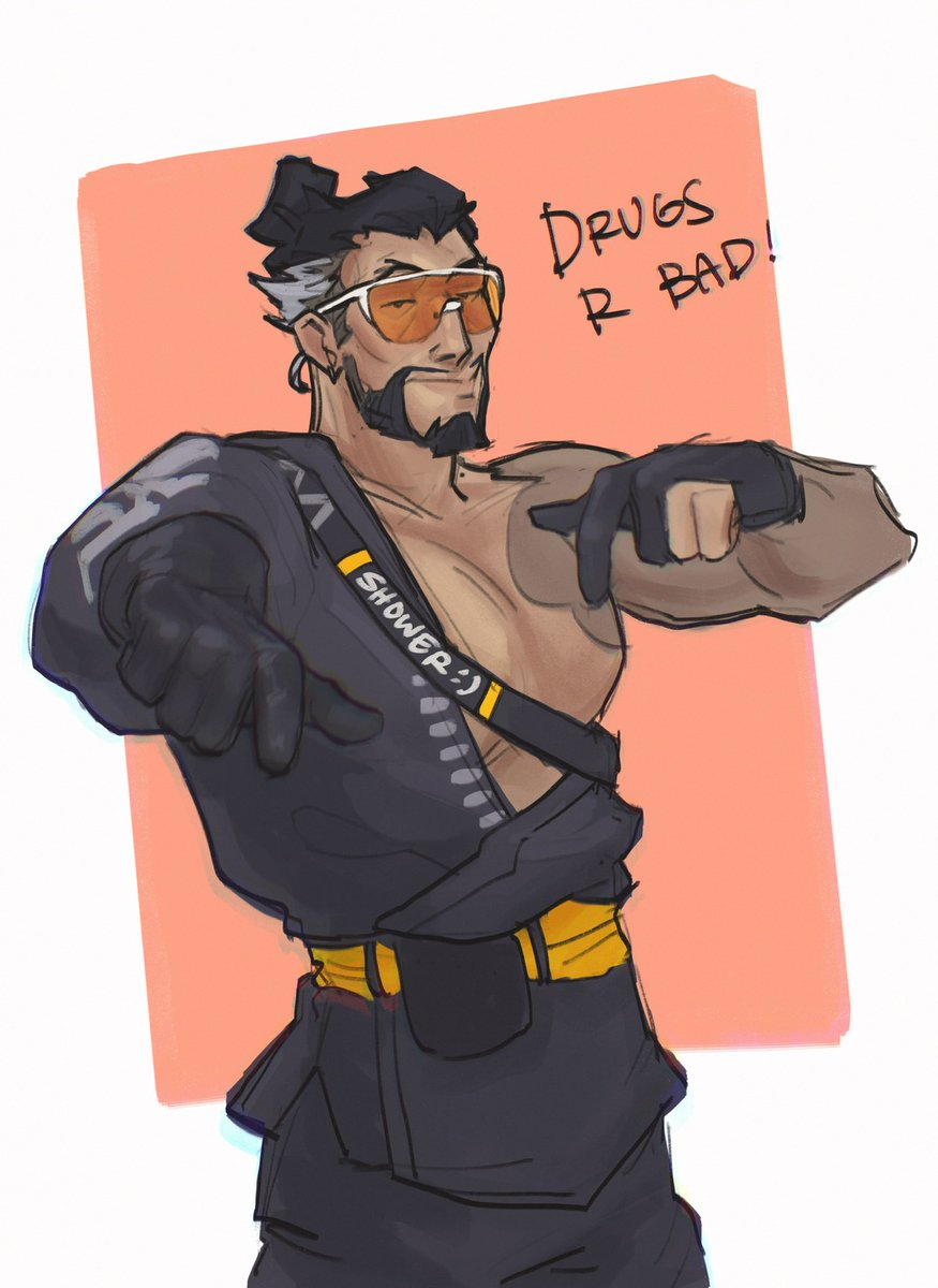 cool guy hanzo says: