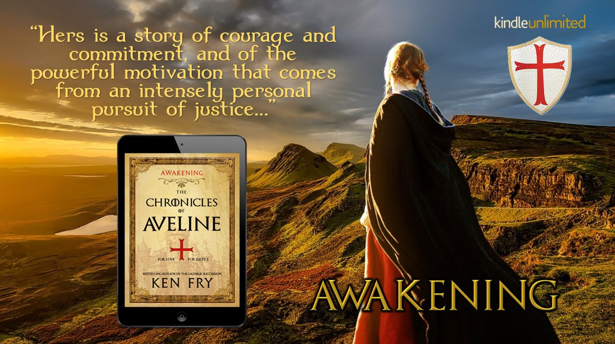 An unforgettable saga of #love, history, adventure, and #suspense. Journey back to the middle ages with an unlikely heroine. #Read #FREE with #kindleunlimited. #histfic #romance #tw4rw #IARTG #Bookboost #medieval    by @kenfry10