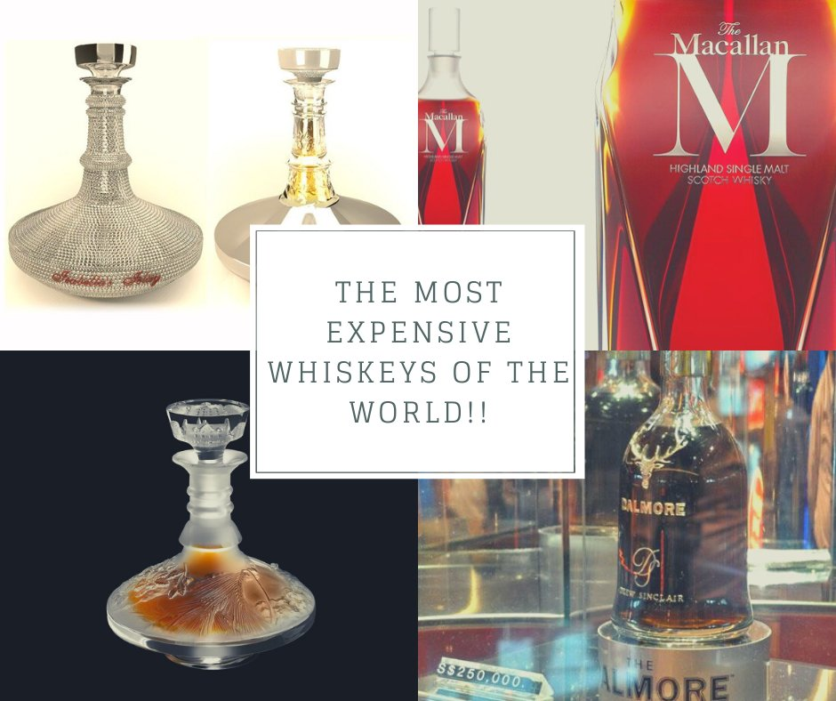 #DidYouKnow The most expensive whiskeys in the world? #Dubai #expo #events #exhibition #BusinessDubai #vapes #beverage #tobacco #mydubai #BTME #beach  #صباح_الخير