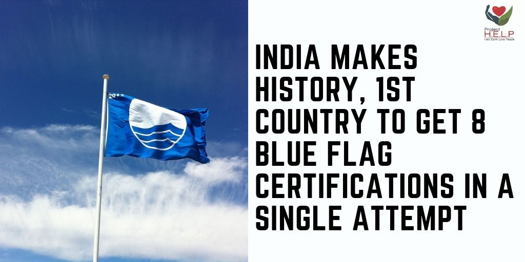 Blue Flag certification is issued by The Foundation of Environmental Education, Denmark for the beaches that meet stringent educational, safety, environmental, and access related criteria.  #India  #Indian #beach #saveoceans