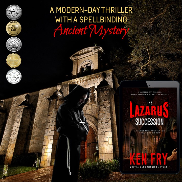 A DYING CONDESA'S LAST HOPE.  A DISGRACED JUDGE'S CHANCE FOR REDEMPTION.  AND A SECRET THAT REMAINED HIDDEN FOR CENTURIES... ✚ UNTIL...   by @kenfry10  get it now    pls RT  #bookboost  #iartg  #asmsg