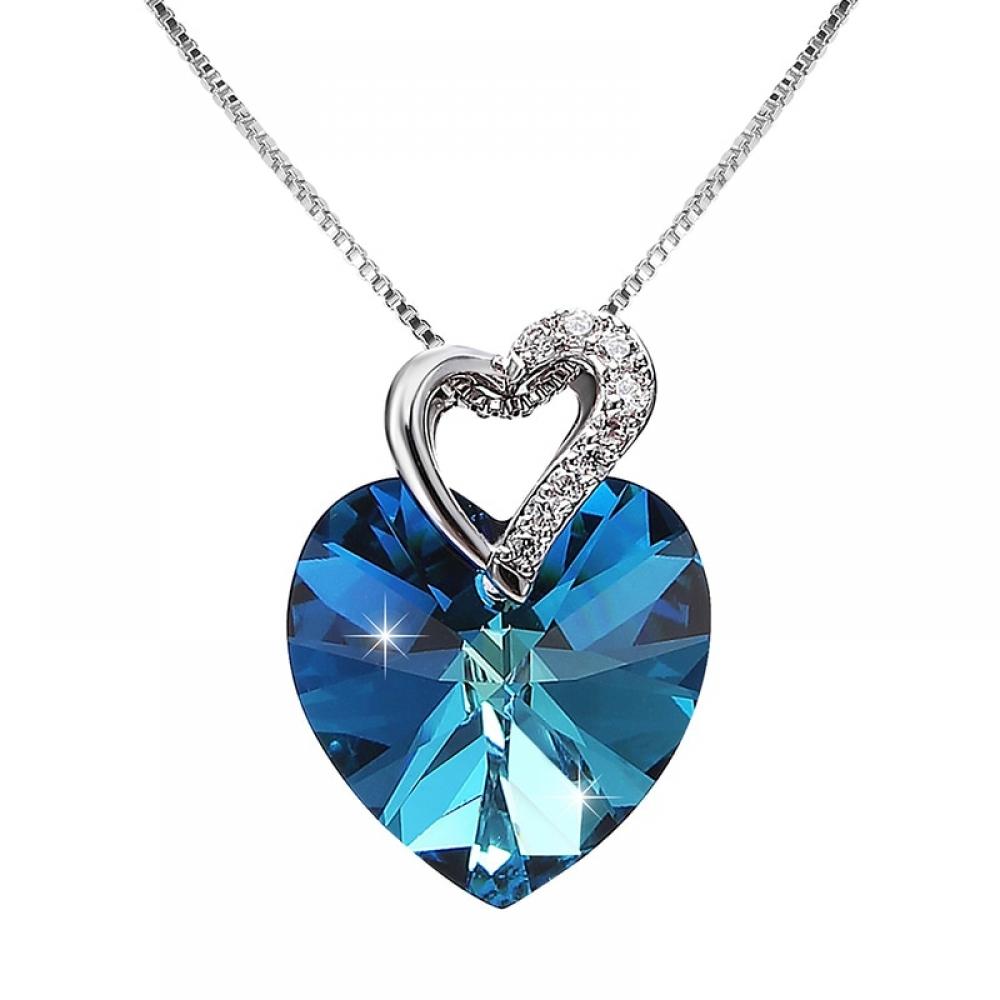 #girls #hair Crystal from Swarovski Women Necklace