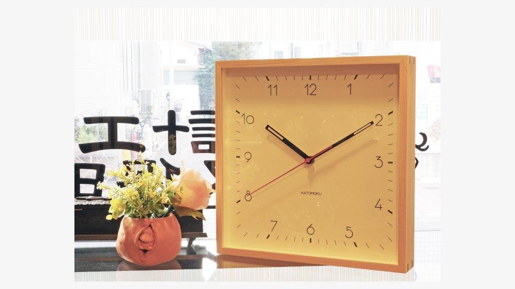 こんにちは、眼鏡工房久保田です。今日は時計工房の方からの入荷のお知らせです。KATOMOKUさんの木枠時計が届きました。明るいヒノキの色がなんともお洒落。和室に飾っても素敵ですよ。  https://t.co/yIlH0wLvnY https://t.co/0DNVeDYecQ