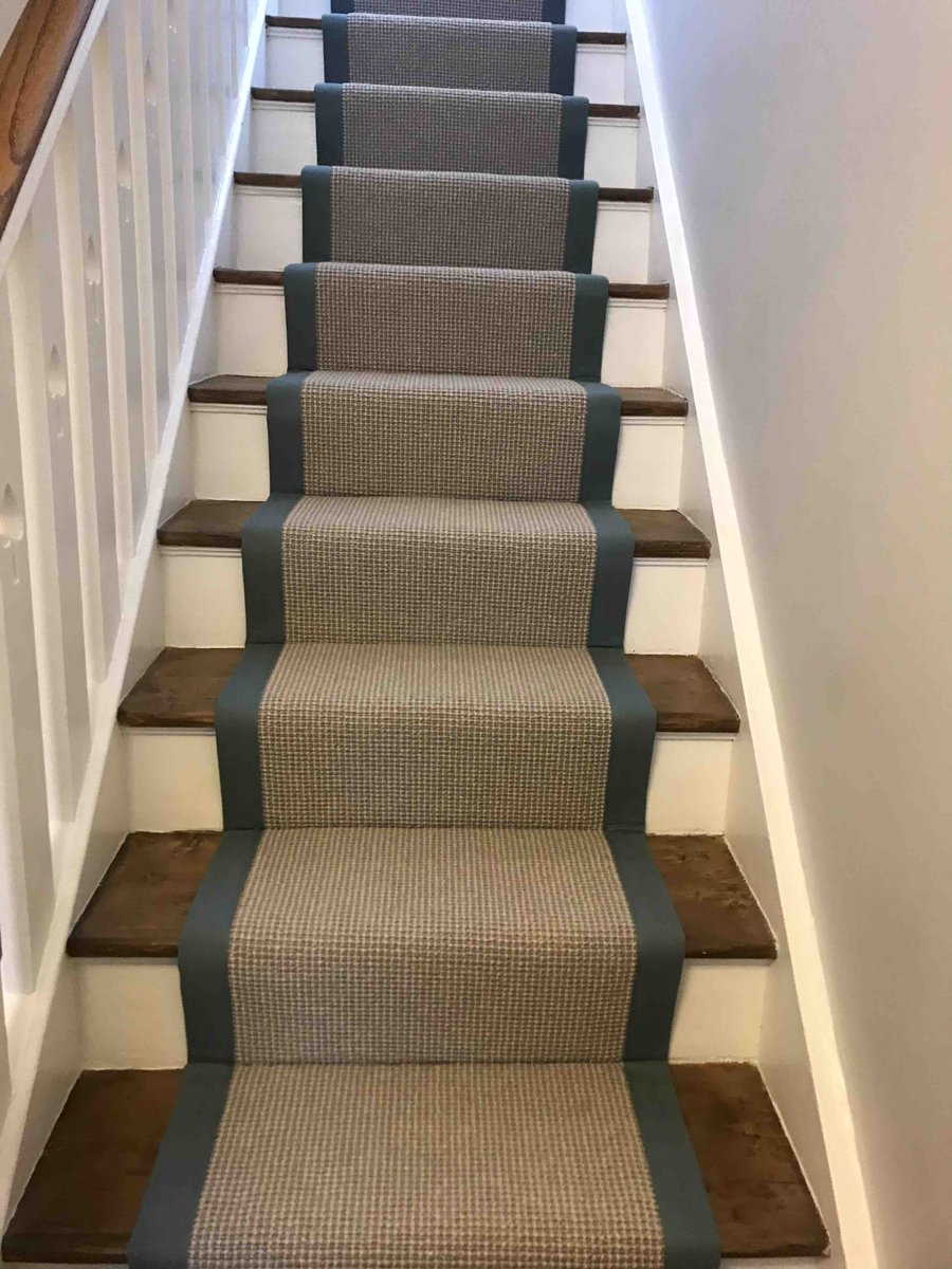 Flooring - Carpet Runner  #London #SE19 #Fitting #Livorno #Templeton #on #straight #flight #stairs #Job #complete  #Creativity_is_not_what_you_see_but_what_you_show_others