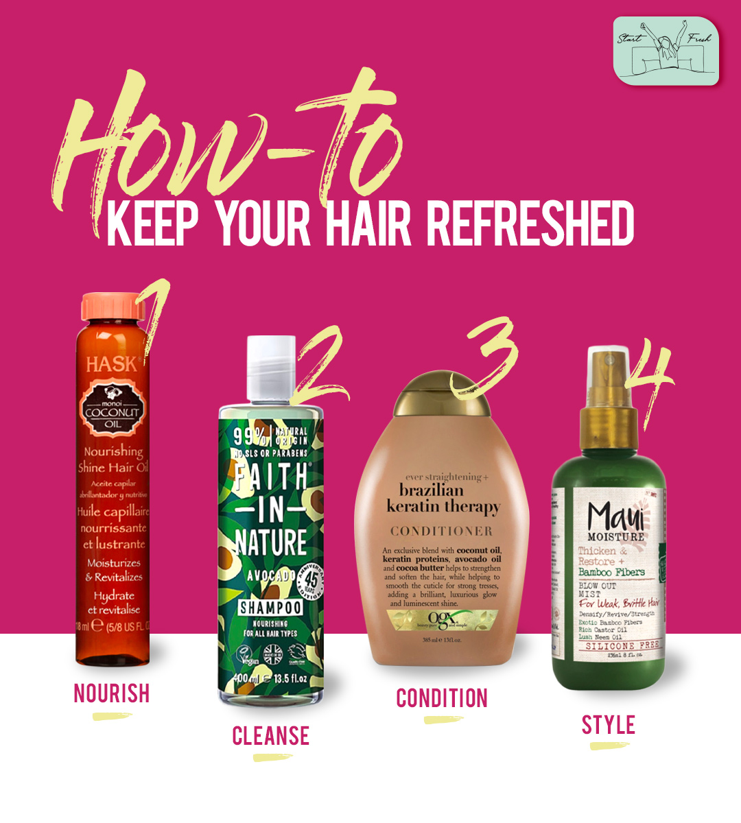 Hair Care = Self Love ❣ A simple routine to keep your hair in check and provide them the much-needed nourishment! Products available in-stores and online https://t.co/GUoOLTNUj0