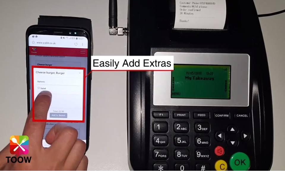 Takeaway Online Ordering Website | Effective #Takeaway Ordering #Website From 0% Commission,  Step 4. Easy Add Extras  #TakeawayOnlineOrderingWebsite  Quick Call - 01254 664064  Or  Visit -