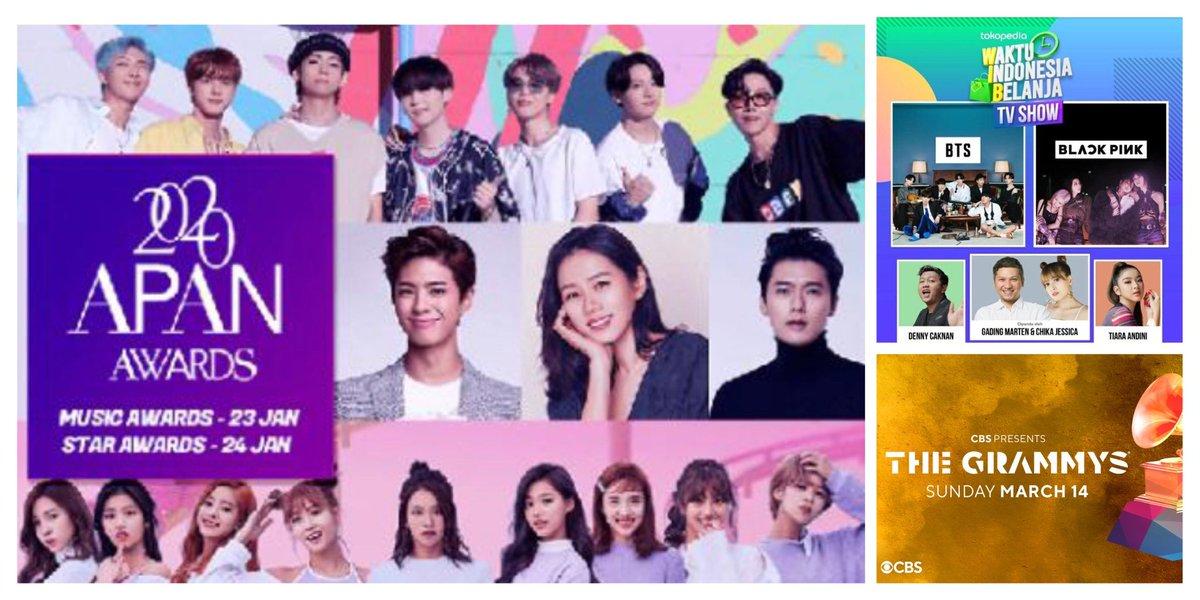 #BTSスケジュール 2021  ❶ 23 18時 APAN MUSIC AWARDS 25 22時 Tokopedia🇮🇩 (31 Seoul Music Awards KBS-N)  ❷ 18 🦄  ❸ 9 🐱 15 10時  #Grammy CBS  ❻13 FESTA💜   @BTS_twt  Life Goes On Dynamite BTS #방탄소년단   …