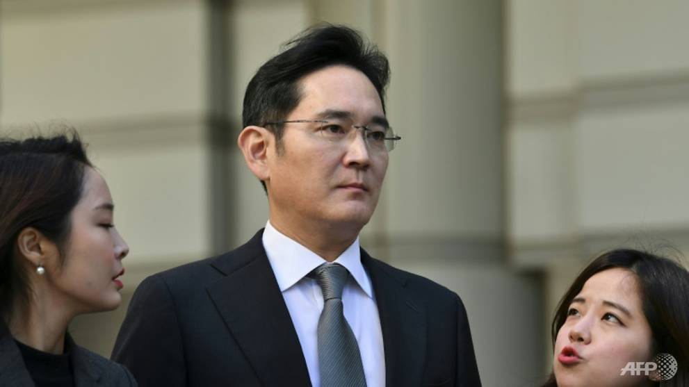 Samsung chief jailed for two and a half years over corruption scandal cna.asia/3sHIzqL
