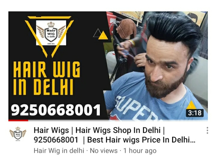 We are a full-service boutique men's grooming business and providing Hair Patches, Hair Wigs with easy to reach locations in Central Delhi, Noida, Agra, & Jaipur.  Contact Us: 9250668001 Vardhman Plaza, Asaf Ali Rd, Del-02 #hairwigindelhi #hairwig #hair #wig #style #saloon #ha