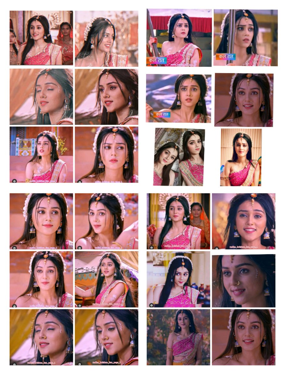 After looking this Kishori look .. It's so much pleasure inside heart.. Mallika Singh is A love , an emotion.. She can easily done any character... She's so rocking perfect... Her acting is mesmerizing!!!!!! #1mdilonkimallika #mallikasingh