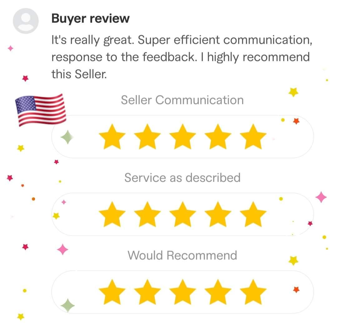 5 ⭐ review at Fiverr from 🇺🇲🤩 ➡️   #MadeOnFiverr #fiverrseller #fiverrgig #fiverr #website #design #web #development #freelancing