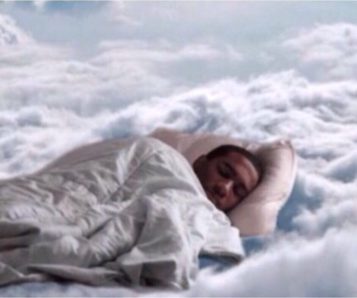 How I'll be sleeping every night #AfterTrump.