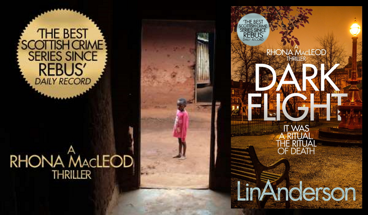 ★★★★★ DARK FLIGHT - 'Rhona Macleod, is a complicated person, but intensely likeable ... I'm working my way through this series ... it gets better with every book'   #Mystery #Thriller #CSI #LinAnderson #IARTG #BloodyScotland #BookBoost #IAN1 #KU