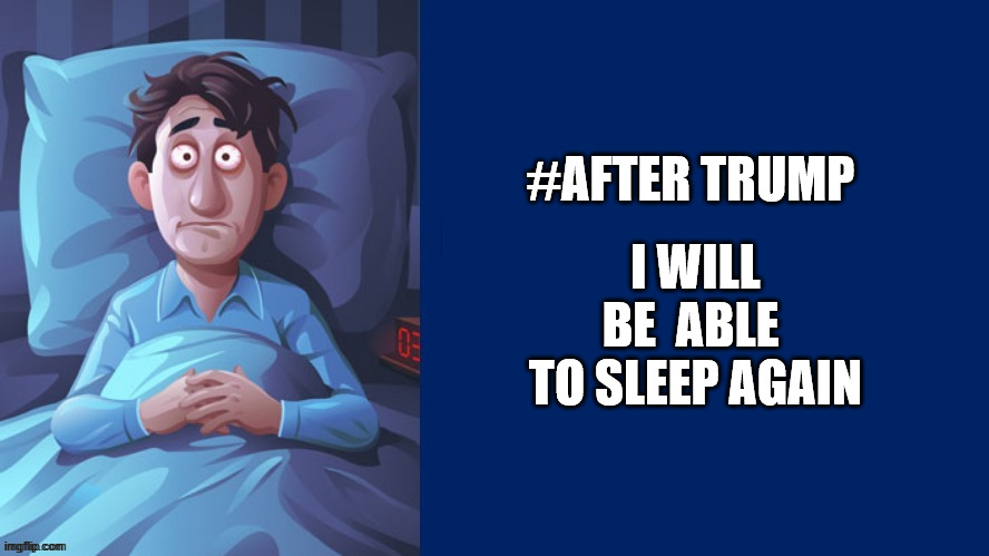 @EdanClay #AfterTrump I will be able to sleep again.