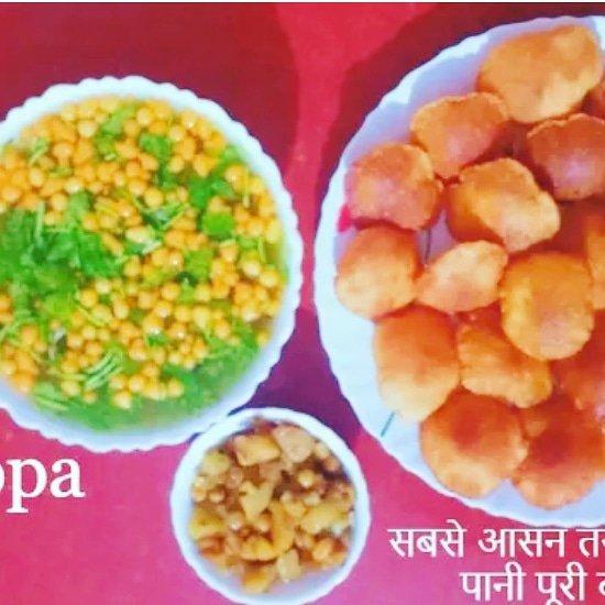 Pani Puri Recipe  Golgappa Puri Recipe  #golgappa #panipuri #food #foodie #streetfood #indianfood #golgappe #foodblogger #snacks #chaatlover #shevpuri #chaat #eveningtime #party #yummy #spicy