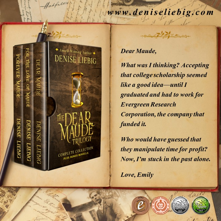 """This fascinating tale is full of #romance, #suspense and #mystery with enough time-travel paradoxes to make any #scifi aficionado purr in delight."" ⌛️  by @DeniseWithWords  #RT  #iartg #asmsg #bookboost  #bookplugs"