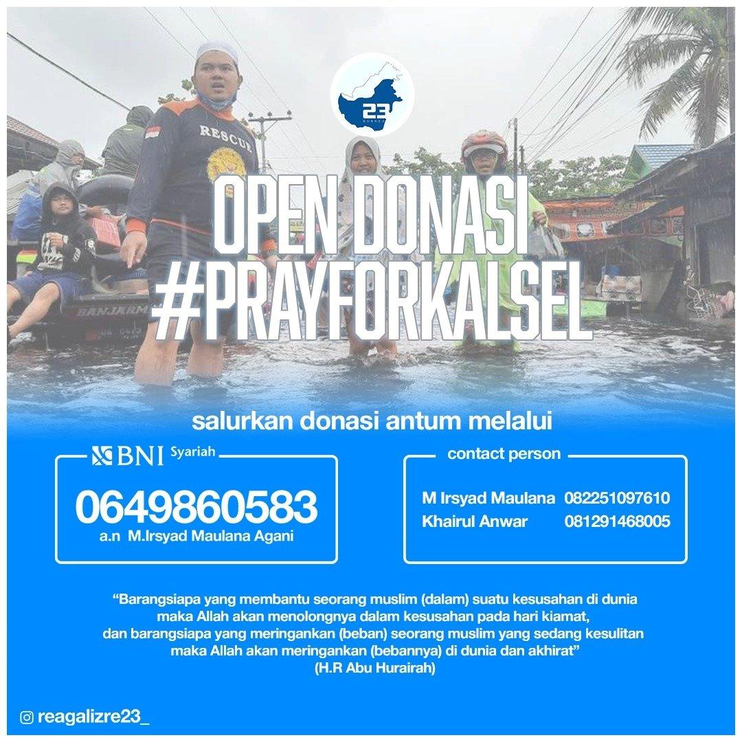 #PrayforKalimantanSelatan #PrayforKalSel
