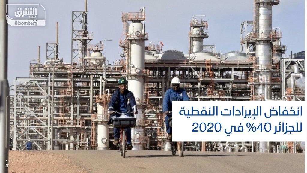 وزارة الطاقة الجزائرية: إجمالي إنتاج #الطاقة انخفض 10% في 2020 بسبب القيود المفروضة لاحتواء جائحة #كورونا التفاصيل:   #اقتصاد_الشرق