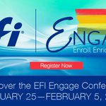 Image for the Tweet beginning: Have you registered for #EFIEngage