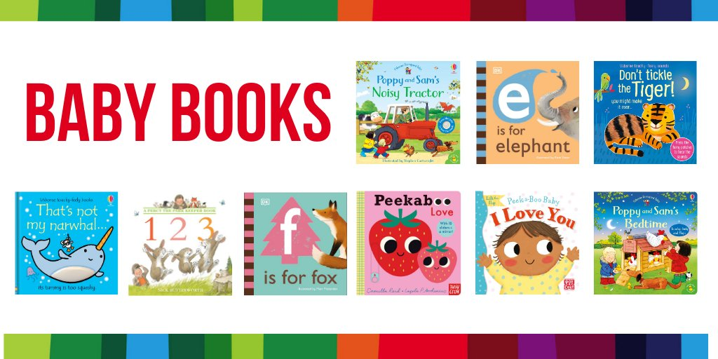 ⭐️SPECIAL GIVEAWAY⭐️  Win a fab bundle of 9 brilliant books for babies!  The selection includes interactive books, early learning board books & more. Find out more on our blog   To enter: RT, FLW & tell us your favourite baby book(s)? UK/IE Closes 24/01