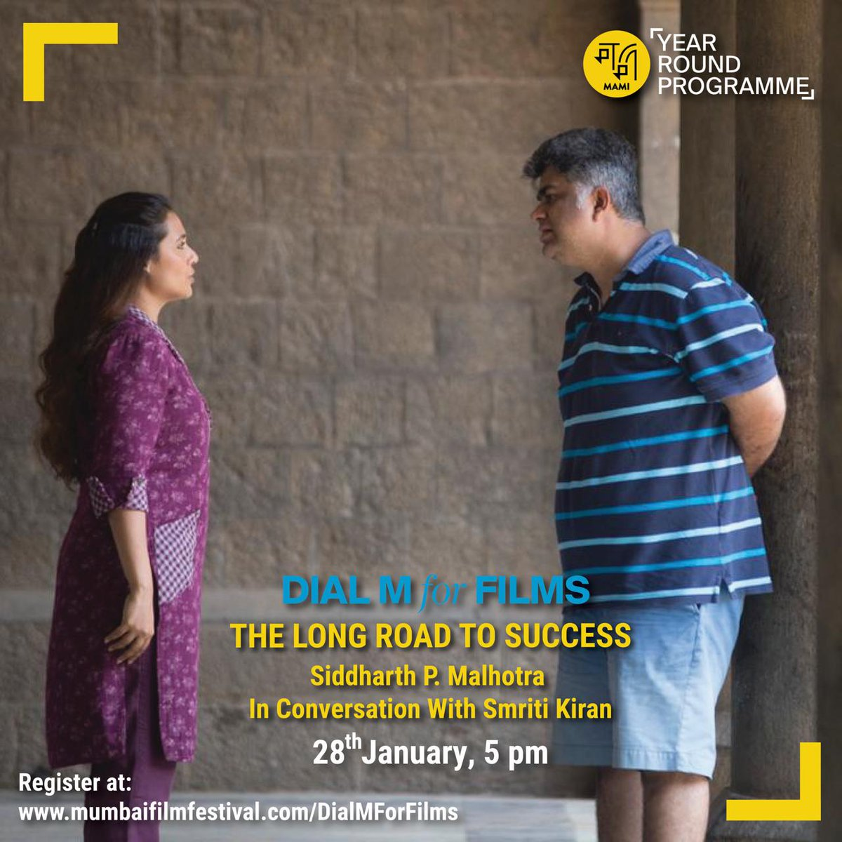 A dream debut doesn't guarantee success or longevity. He might have had resources but he has fought long and hard for credibility. Director, producer @sidpmalhotra on his long road to success on 28th January, 5 pm. #DialMForFilms Register here -